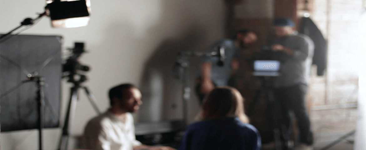 Interview setup by Recreating Reality Films